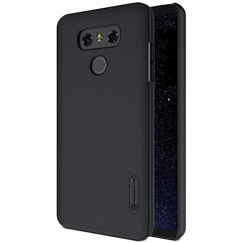 Nillkin ultra-fino caso para lg g6 fosco escudo capa dura fosco anti-deslizamento de volta escudo com protetor de tela livre + pacote de varejo