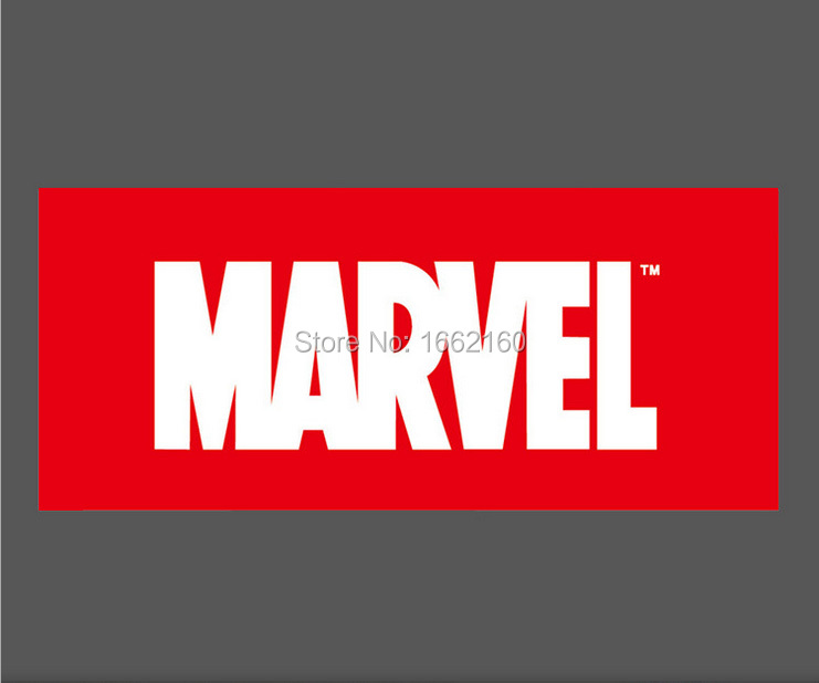 Marvel logo vinyl sticker snowboard luggage car laptop phone 10x4cm m0139 on aliexpress com alibaba group