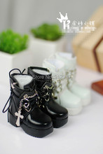 Cute Cross Boots for BJD 1 4 MSD 1 3 SD10 SD13 Luts DOD AS DZ