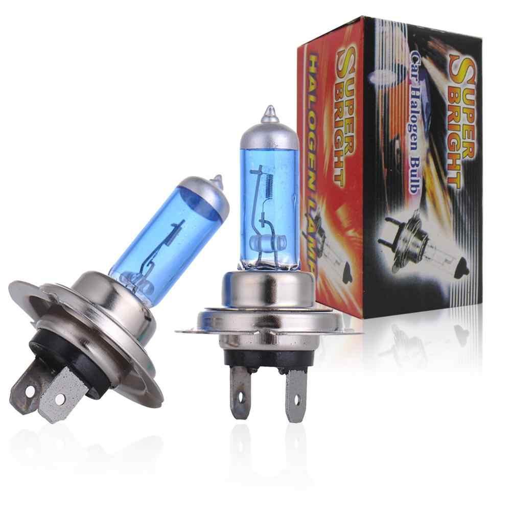 2 Pcs 55 W TXVSO8 Lâmpadas Halógenas Auto Qualidade Superior Azul Banhado 12 V Carro Lâmpadas Faróis H1 H3 H4 h7 H11 9005 9006 5000 k Super Bright