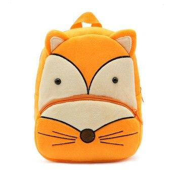 2020 Cartoon Kids Plush Backpacks Mini Kindergarten schoolbag Plush Animal Backpack Children School Bags Girls Boys Backpack - 09
