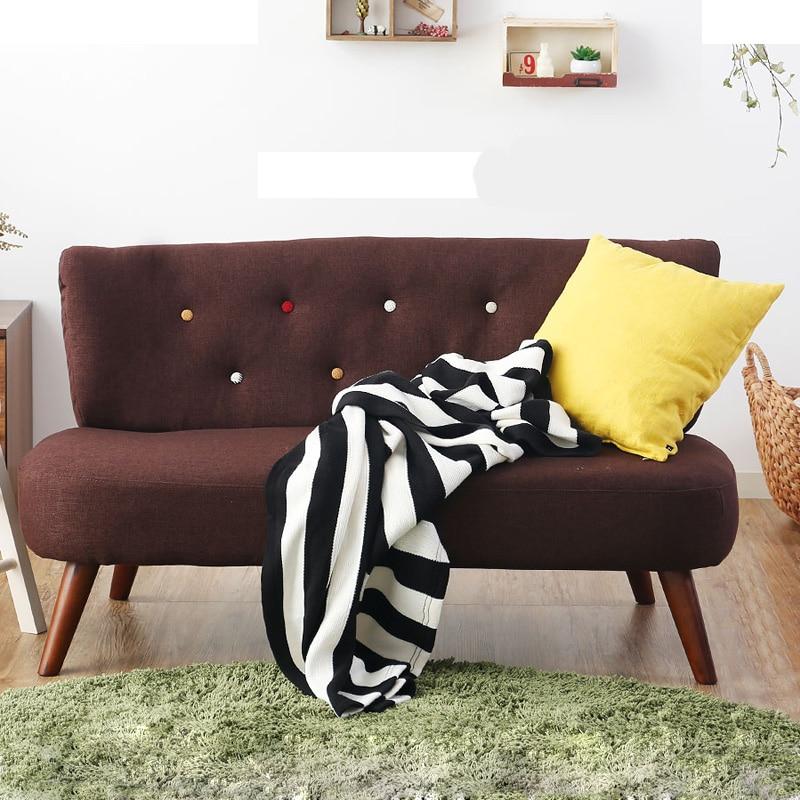 aliexpress.com : acquista moderno soggiorno divano 2 posti di lino ... - Soggiorno Stile Zen 2