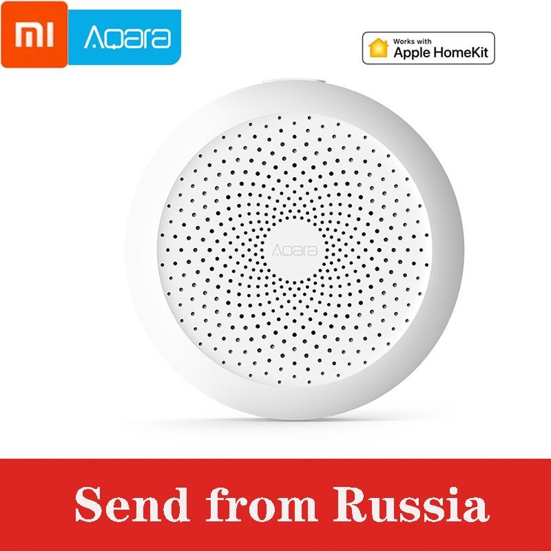 D'origine Xiaomi Aqara multifonction passerelle télécommande intelligente WIFI Hub interrupteur de commande porte capteur corps capteur ampoule rideau