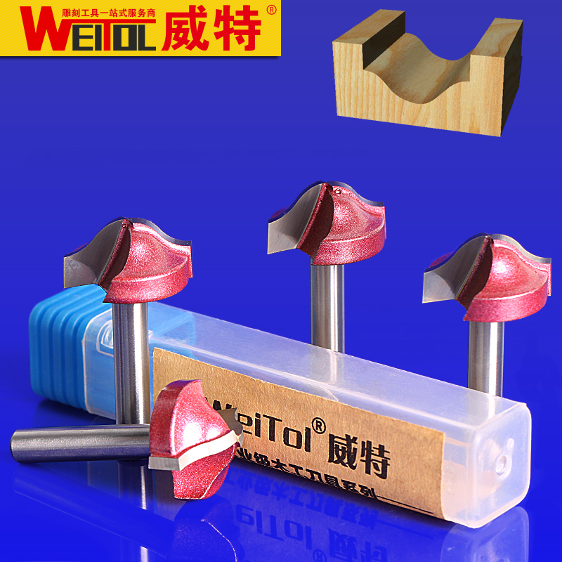 Weitol 6mm wood cutter,CNC wood mochine Solid Carbide Milling Cutter,Arc cleaning cutter bit,MDF,PVC,acrylic,wood tool 1pcs round bottom engraving bit 1 2 1 4shank mdf wood tool cnc solid carbide milling cutter tungsten steel wood tool
