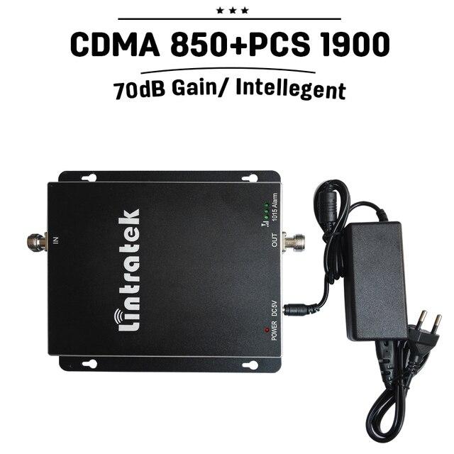 Канада США 3 Г GSM 850 мГц 1900 мГц Двухдиапазонный Мобильный Усилитель Сигнала 70дб Усиления CDMA 850 ШТ 1900 Сотовый Телефон Усилитель Повторитель UMTS