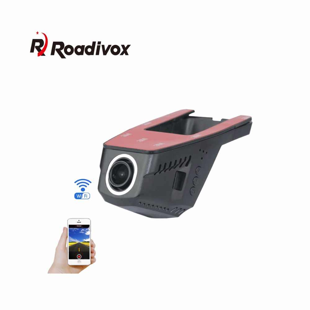 Car DVR Camera WiFi APP Novatek 96655 IMX 323 dvr FHD 1080p Video Recorder Registrator Night VisionAuto Dash Cam Black  Dash Cam