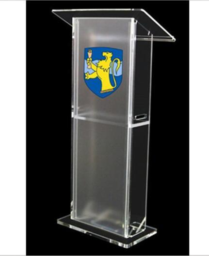Detachable Cheap Acrylic Church Lectern Plexiglass