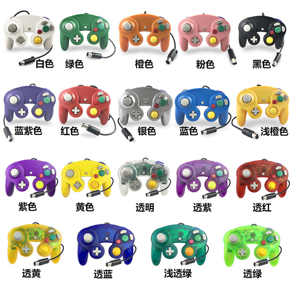 Wired Controller for Nintendo Wii Gamecube джойстик wii ngc ngc gamecube controller
