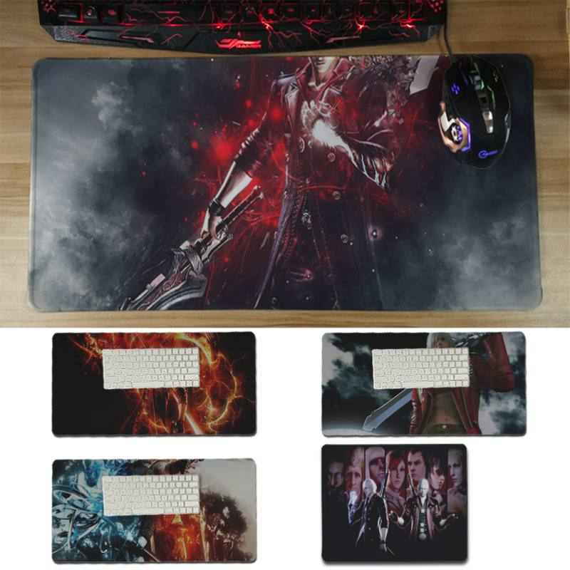 Yinuoda Vintage Cool Devil May Cry Laptop Computer Mousepad Size for 18x22cm 20x25cm 25x29cm 30x60cm ...