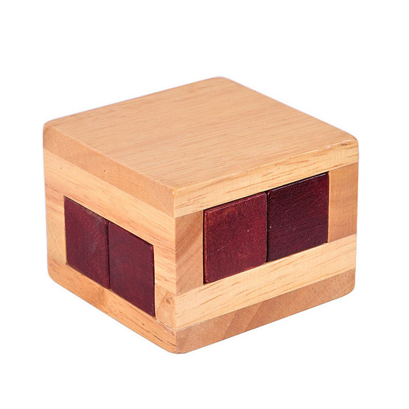 High quality Wooden Magic Box Puzzle Game Luban lock IQ toys For Children Adult Educational Toys Brain Teaser Game цена
