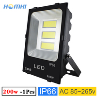 200w LED floodlights outdoor for stadium home garden lighting spotlight 100lm/w IP66 waterproof high power wall lamp 220V
