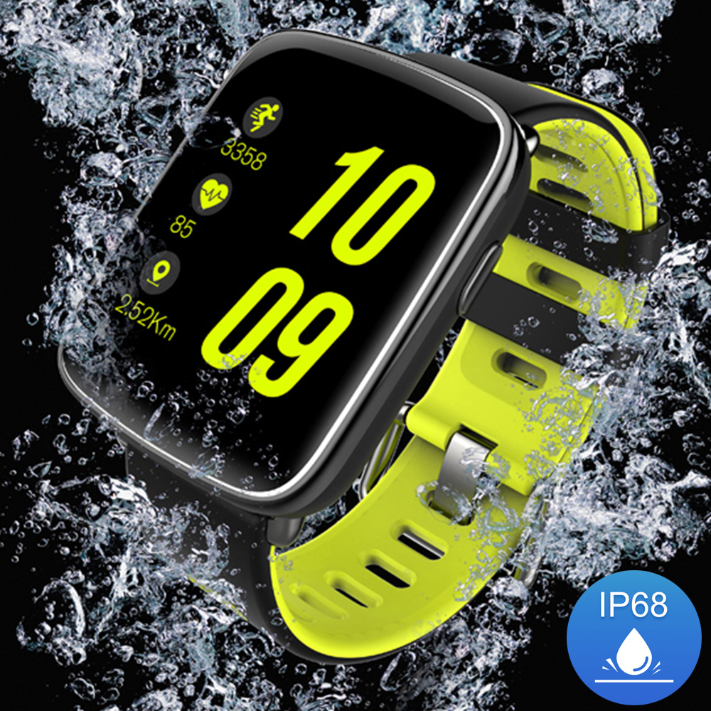 Smart Watch Waterproof Ip68 Heart Rate Monitor GV68 Bluetooth Smartwatch Swimming with Replaceable Straps for IOS Android Phone цена