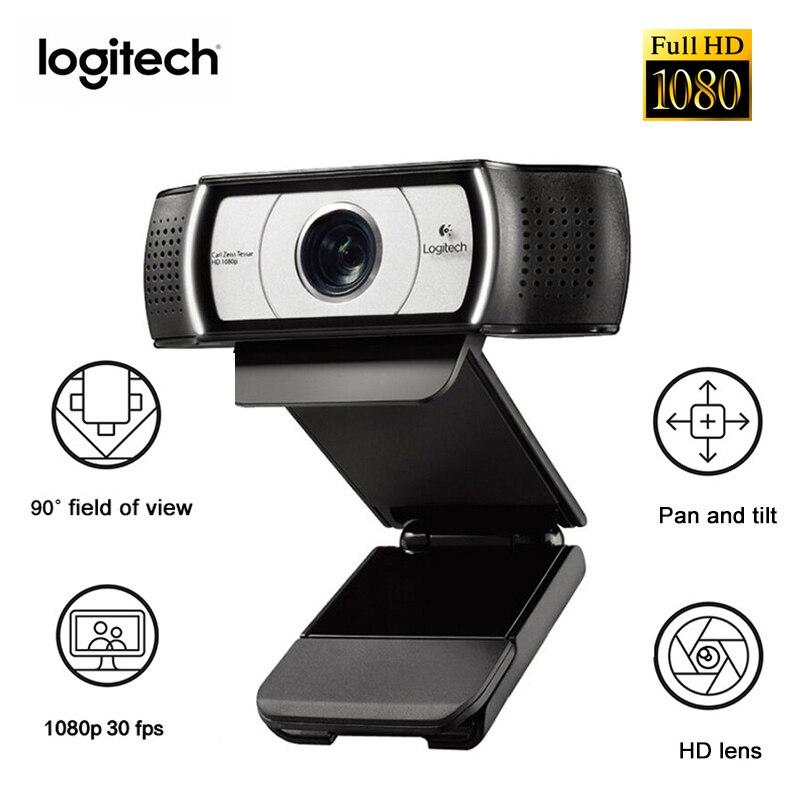 Logitech C930e HD Camera Live Network Video Conference Wide Angle 1080P 4Time Digital Zoom Laptop Desktop