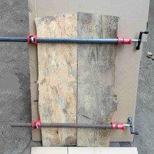 """1/"""" чугунная Тяжелая древесина склеивания трубы зажим набор деревообрабатывающий плотник инструмент QJ888"""