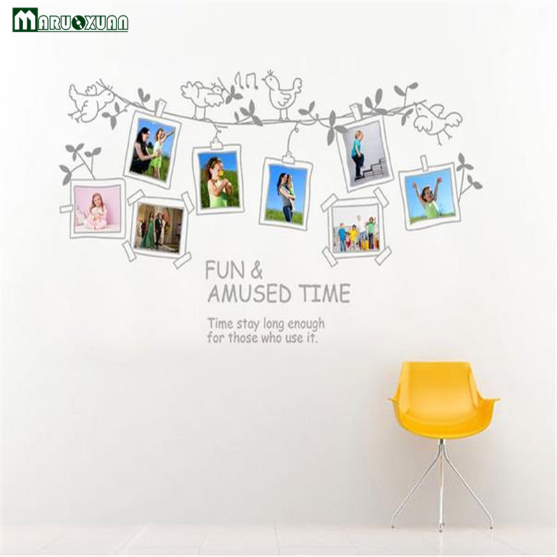 ツmaruoxuan 70 120cm Picture Photo Frame Wall Stickers Living