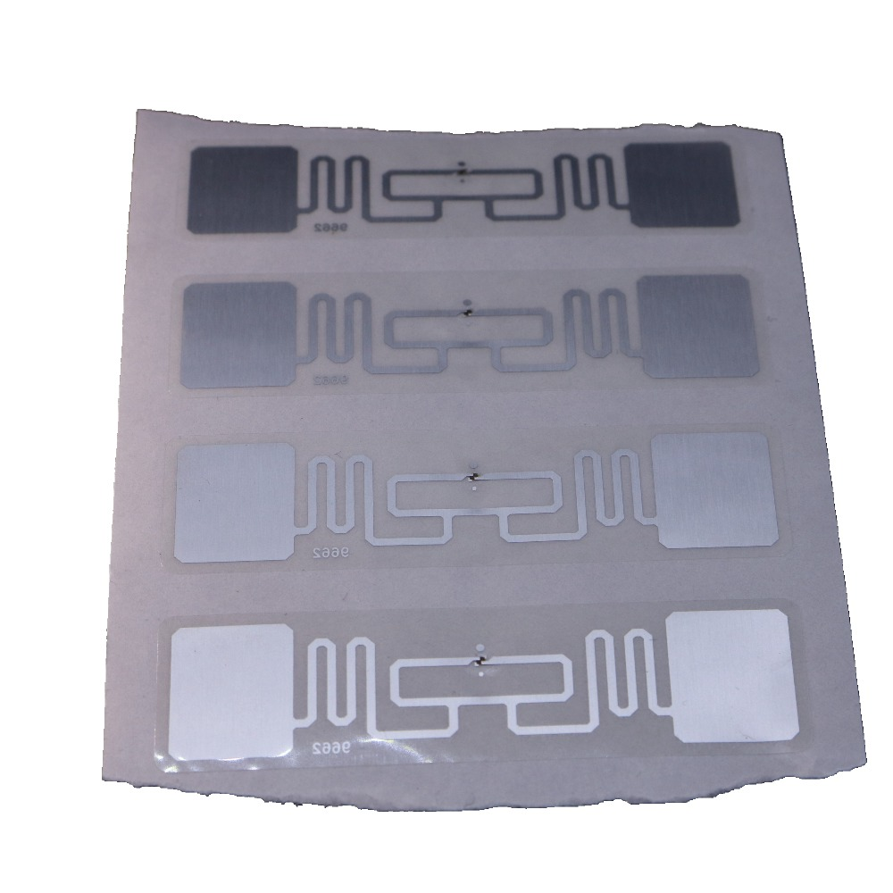 20PCS/lot 9662 UHF RFID Tag ISO18000-6C H3 UHF RFID Stickers Label