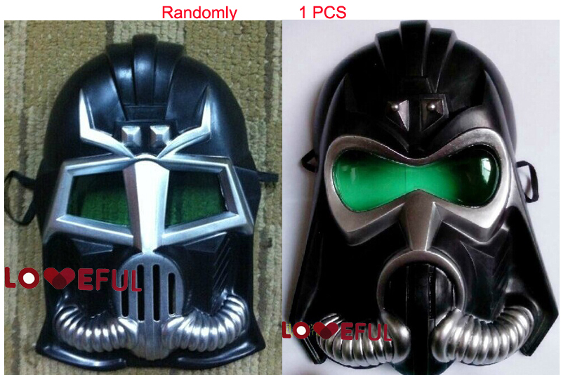 New 1pcs Random Cosplay Black Cool Rubies Star Wars Darth Vader Toy Gas Mask Pvc Festival Party Halloween Masquerade Mask Curing Cough And Facilitating Expectoration And Relieving Hoarseness Party Masks