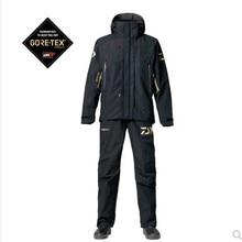 DR-1807 Dayiwa рыболовная куртка, штаны для рыбалки, дышащий 10000 мм водонепроницаемый рыболовный жилет, мужская уличная куртка, один комплект
