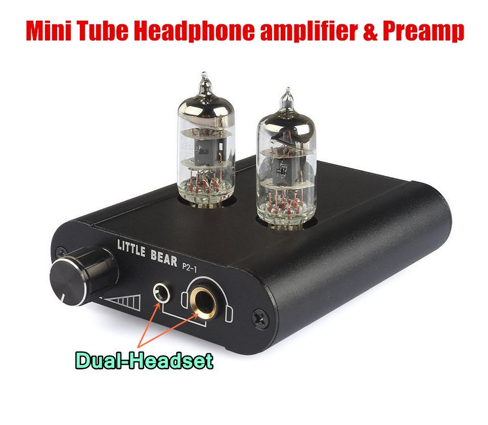 Little bear 6J1 Tube Headphone Amp Audio HiFi Pre AMP ...
