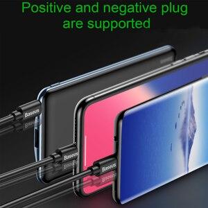 "Image 5 - Baseus 10000mAh פ""ד מהיר תשלום כוח בנק 3A מהיר טעינה Ultra Slim כוח בנק USB סוג C מטען עבור iPhone X 8 7 Xiaomi MI"
