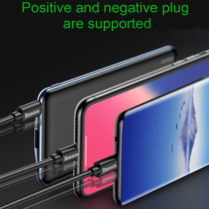 Image 5 - Baseus 10000mAh PD Quick Charge Power Bank 3A Fast Charging Ultra Slim Power Bank USB Type C Charger for iPhone X 8 7 Xiaomi MI