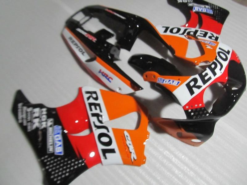 ABS Red Orange Fairing Kit For HONDA CBR900RR 893 91 92 93 94 95 CBR 900RR 1991 1994 1995 Motorcycle Fairings Set Gifts HK01