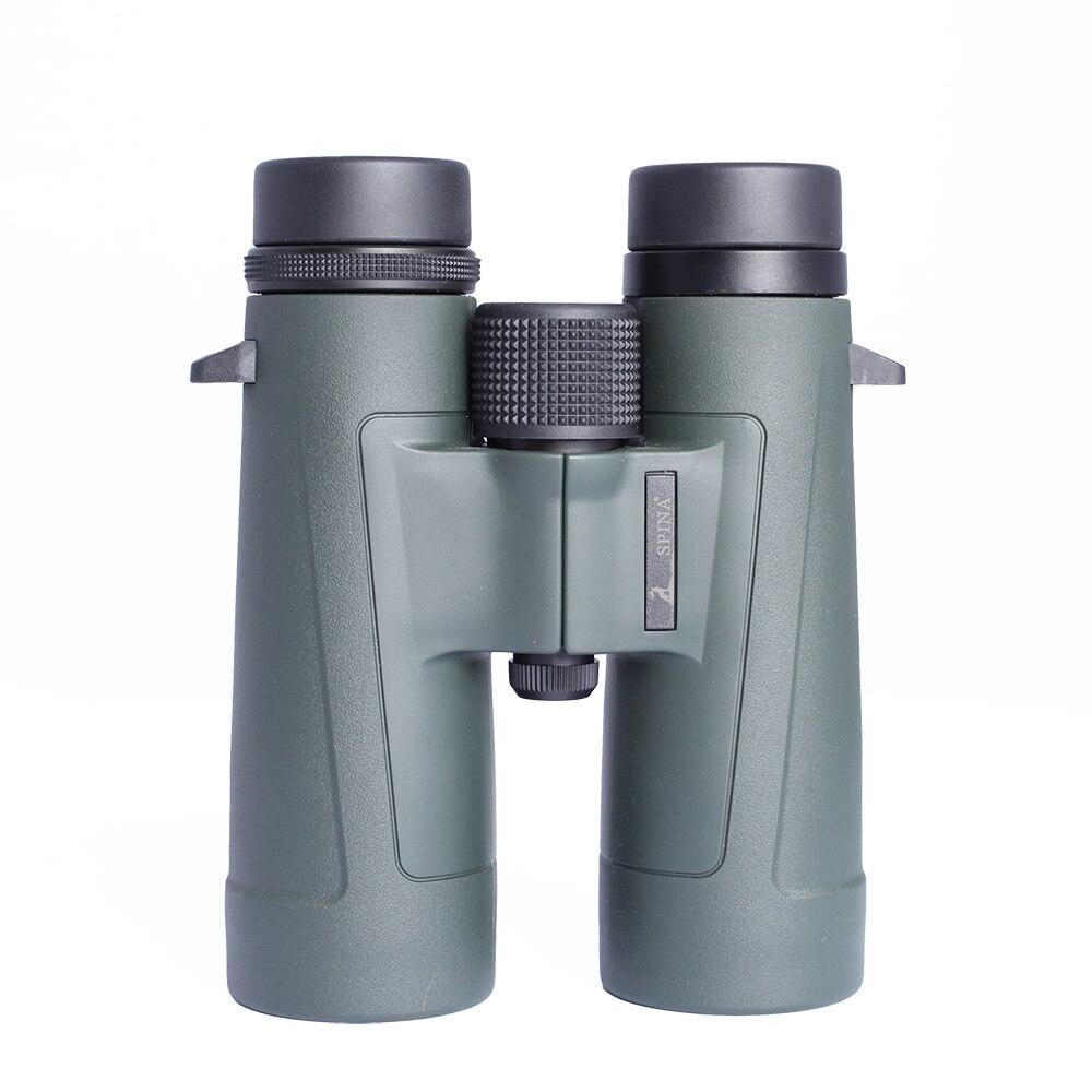SPINA OPTICS Military HD 10x42 Binoculars Professional Hunting Telescope Zoom High Quality Vision Army Green