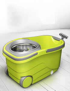 Image 5 - Suspended Separation Bucket  Mop With Wheels Spin Noozle Mop Clean Broom Head Cleaning Floor Windows Clean Tools