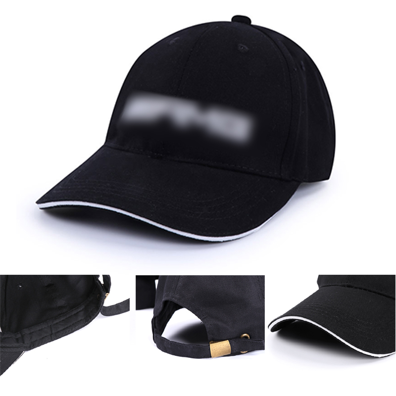 Cotton Baseball Cap For Mercedes Benz AMG Sunshade Sunhat Embroidered Trucker Hat Outdoor Sunbonnet Men Women UV Protection