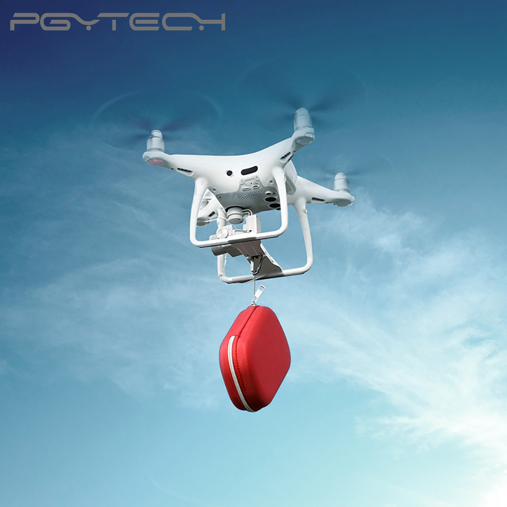 PGYTECH Air-Dropping System expand drones capabilities for DJI Phantom 4 series drone AccessoriesPGYTECH Air-Dropping System expand drones capabilities for DJI Phantom 4 series drone Accessories