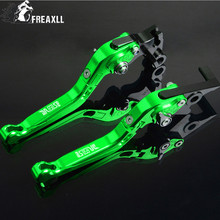 For Suzuki DR 650 SE DR 1994-2010 Motorbike Accessories Motorcycle Handlebar Brake Clutch Levers Adjustable Folding Extendable цена и фото