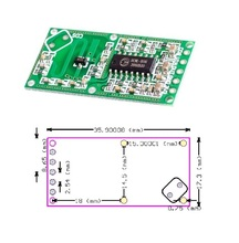 New RCWL-0516 Microwave Radar Sensor Module Human Body Induction Switch Module