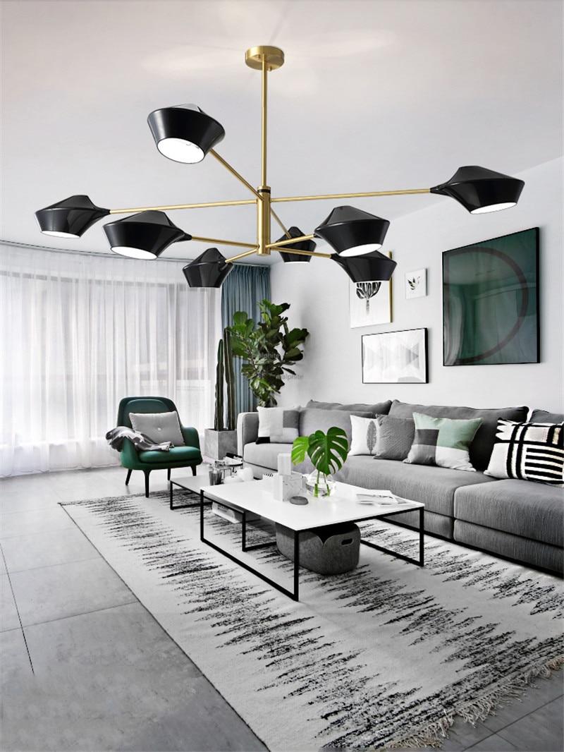 Işıklar ve Aydınlatma'ten Kolye ışıkları'de Iskandinav LED Tüm Bakır Kolye Lamba Oturma Odası Yatak Odası Modern Yenilik Basit Aydınlatma Ev Dekorasyonu Kolye Işıkları Mutfak Armatürleri