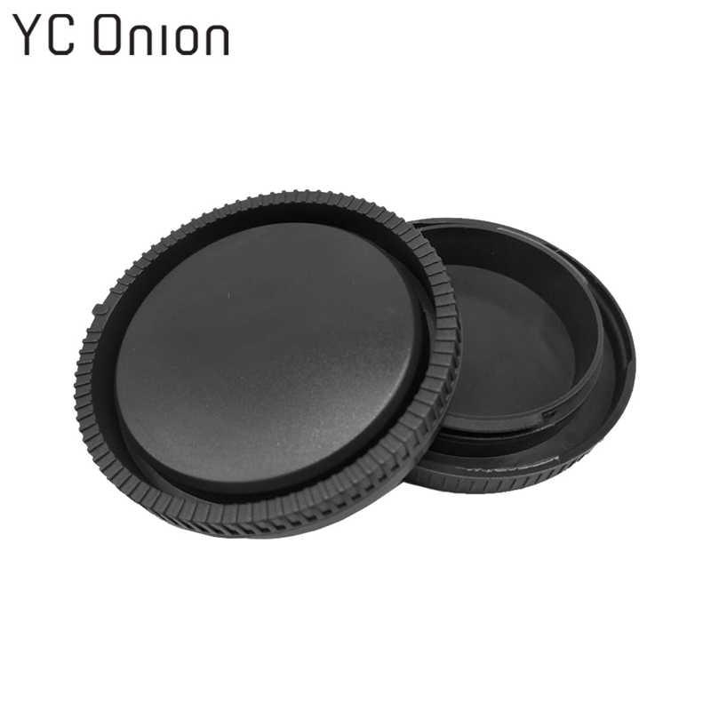 2 en 1 capuchon d'objectif arrière + capuchon de boîtier de caméra pour Sony E Mount NEX NEX-3 NEX-5/6/7 A7 A7r A7s A3000 A5000 A5100 A6000 A6300 A6500