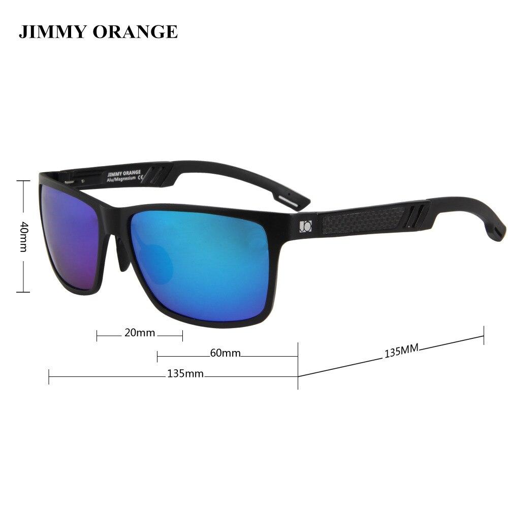 Naranja Cuadrado Jimmy De Gafas Conductor Polarizadas Espejo Sol rxeoWdCB
