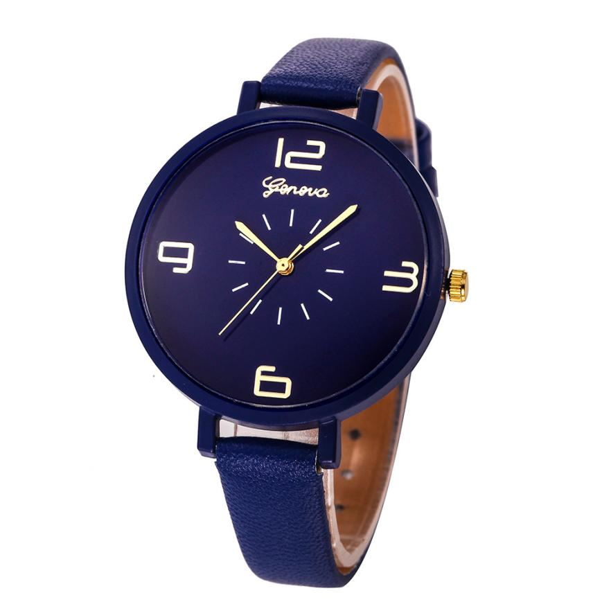 10 Colors Leather Strap Watches Women Simple Design Small Dial Quartz Watch Trendy Style Ladies Casual Wrist Watches Relogio #LH new arrival turntable simple wrist watch women trendy quartz watch casual special design sport round dial hour student relogio