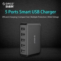 ORICO OPC 4US BK 4 Ports USB Desktop Charging Docking Station With Charger Bracket Black