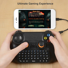 3 in 1 Multifunctional Wireless V3.0 Gamepad Controller with Keyboard and Touchpad 360-degree Flip