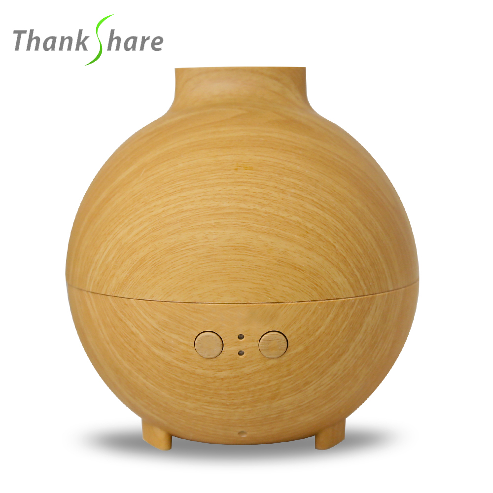 Air Humidifier Ultrasonic Essential Oil Diffuser Vaporizer Wood Grain Supper Difusor De Aroma Mist Maker 625ml For Office Home
