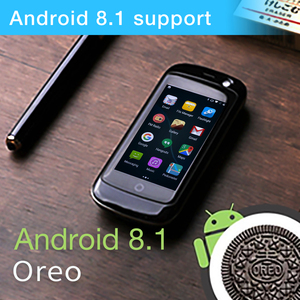 Image 4 - Unihertz ג לי פרו, הקטן ביותר 4G Smartphone בעולם, אנדרואיד 8.1 Oreo סמארטפון מיני טלפון עם 2GB RAM 16GB ROM לבן