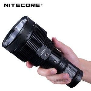 Image 3 - 小型モンスターシリーズ Nitecore TM38 Lite CREE XHP35 ハイ D4 LED 1800 ルーメン充電式サーチライトビーム距離 1400 メートル