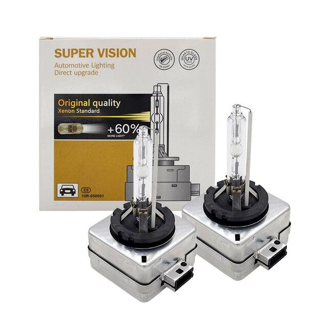 2021 55W Xenon D1S D3S Xenon HID Bulb D1 D3S Auto Headlight Bulb 4300K 5000K 6000K 8000K 35W 55W D2S D4S Original HID Xenon Bulb