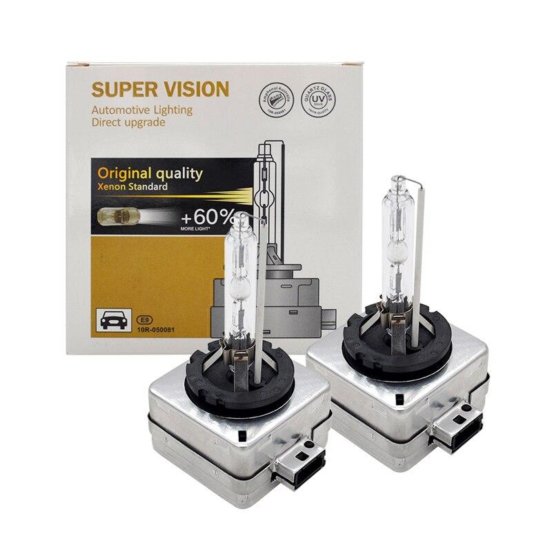 55W Xenon D1S D3S Xenon HID Bulb D1S D3S Auto Car Headlight Bulb 4300K 5000K 6000K 8000K 35W 55W D2S D4S HID Replacement Bulb