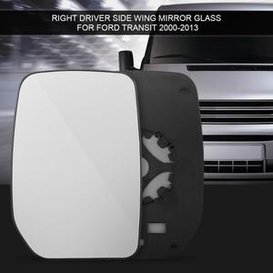 Car Right Wing Driver Side Door Wing Mirror Glass for Ford Transit 2000-2013 Car Outside Rearview Mirror