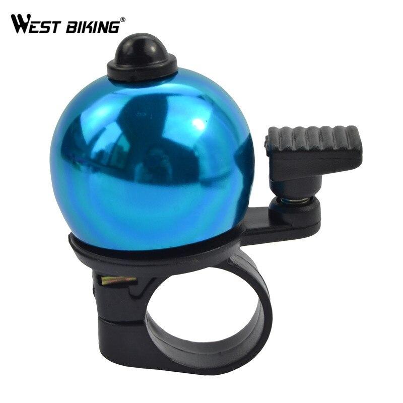 WEST BIKING Colorful Mini Type Handlebar Horn Bike Bell Loud Sound Bicycle Accessories MTB Cycling Alarm Bike Bell Bicycle Horn