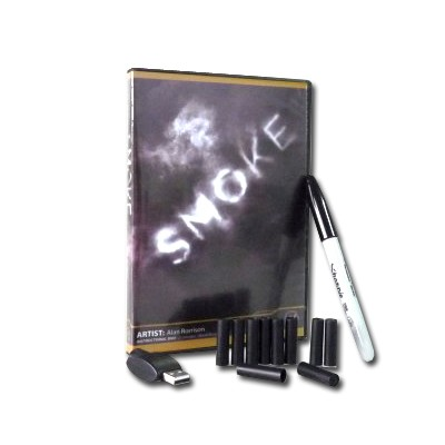 Smoke By Alan R (Gimmicks+10 Pcs Refills) - Magic Tricks,Illusions,Stage Magic Props,comedy,close Up,magic Toys