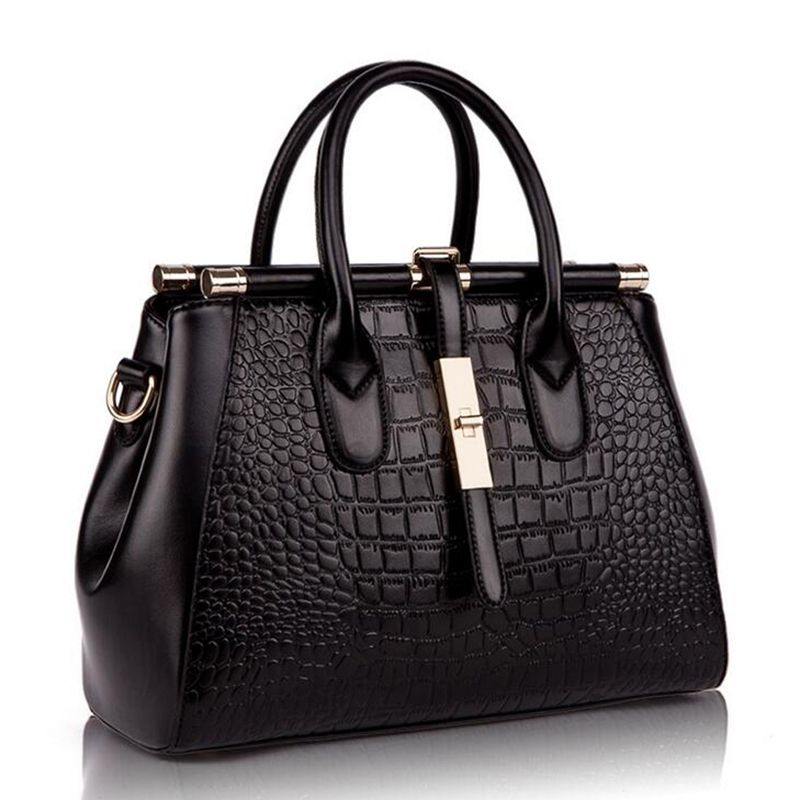 Yirenfang 2017 Genuine Leather Alligator Luxury Handbags Women Bag Designer Women Messenger Bags Handbags Women Famous Brands chispaulo women genuine leather handbags cowhide patent famous brands designer handbags high quality tote bag bolsa tassel c165