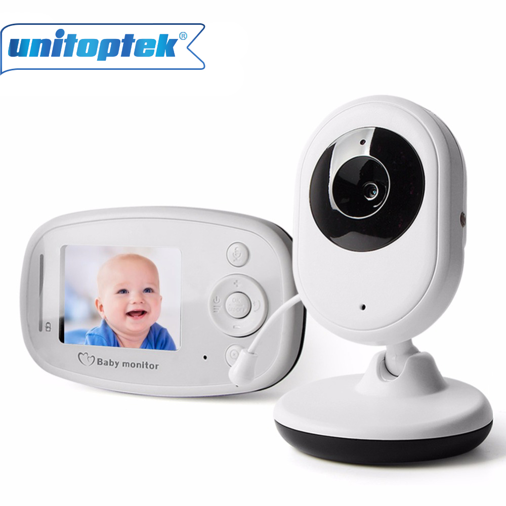 2.4GHz Wireless Camera Sleeping Baby Monitor Infant Radio Babysitter Digital Video Night Vision Temperature Display Radio Nanny wireless 2 4 lcd color baby monitor high resolution lullabies kid nanny radio babysitter night vision remote camera newborn gift