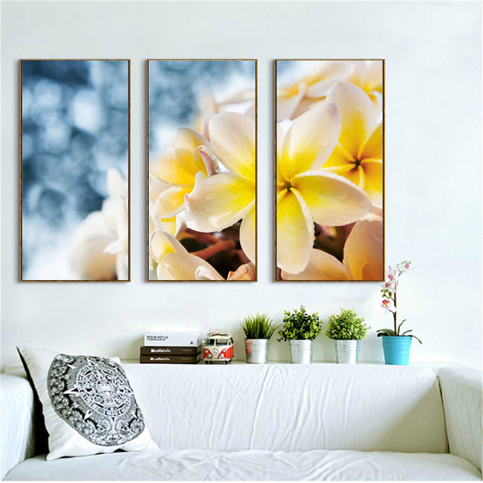 SUNFLOWERS /& DAISIES CANVAS ONLY BY GRAFITEC 35x80cm