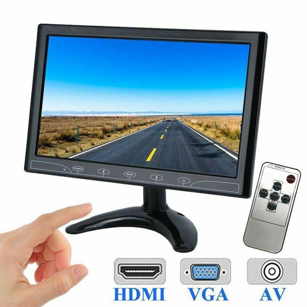 10 Inch TFT LED Screen CCTV Surveillance Monitor AV/VGA/HDMI Input Security10 Inch TFT LED Screen CCTV Surveillance Monitor AV/VGA/HDMI Input Security